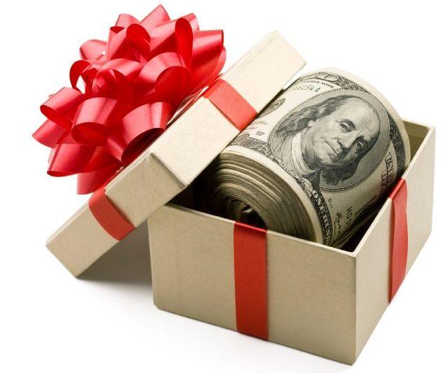 Оформление договора дарения денежных средств