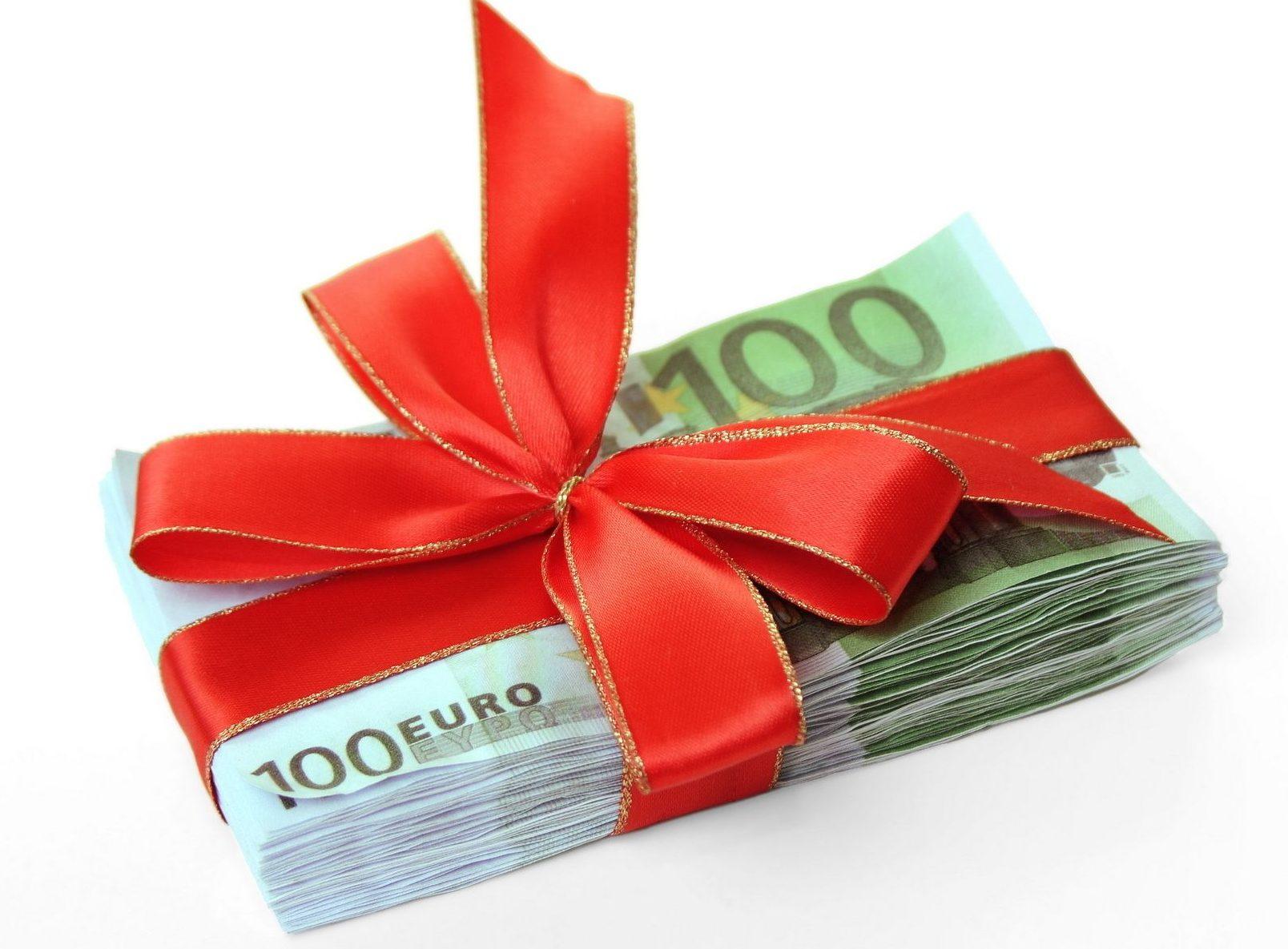 Заключение договора дарения денег